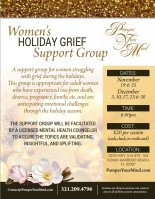 Women's Holiday Grief