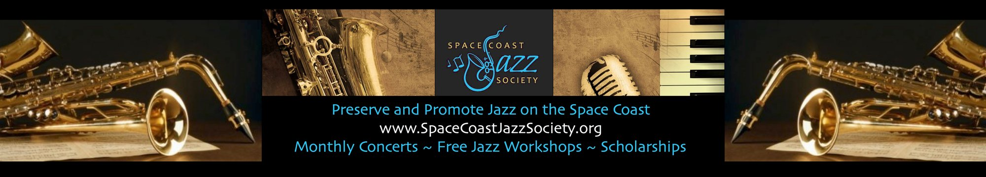 Space Coast Jazz Society Header