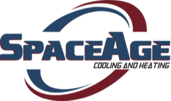 SpaceAge Cooling and Heating Logo