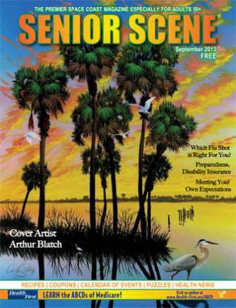 Senior Scene Mag September 2013 Cover