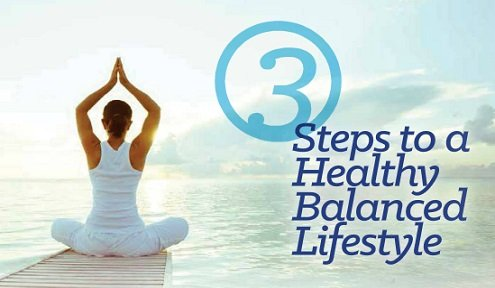 3 Steps to a Healthy Balanced Lifestyle