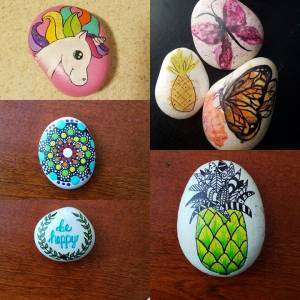 Painting Brevard Rocks offers healing