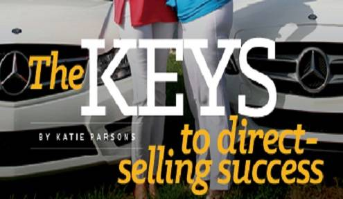 The keys to direct selling success