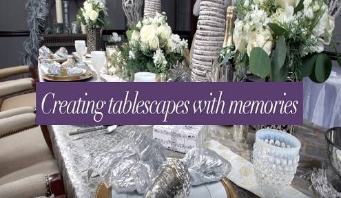 Dressing up the table this Holiday season