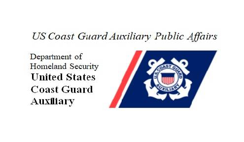 Local Coast Guard Auxiliary Crew Decorated for Rescuing Two Boaters