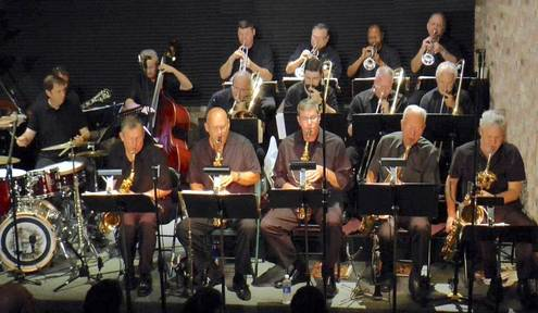 The Space Coast Big Band Performs Jazz Favorites