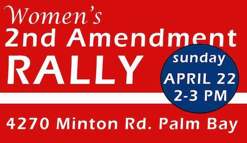 Women's 2nd Amendment Rally April 22nd