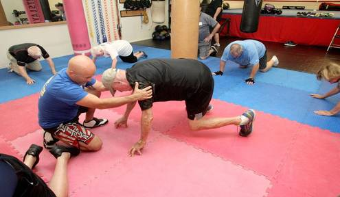 Steady as a Rock: Locals battle Parkinson's with boxing, camaraderie