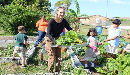 School Garden Club Sows Seeds of Knowledge