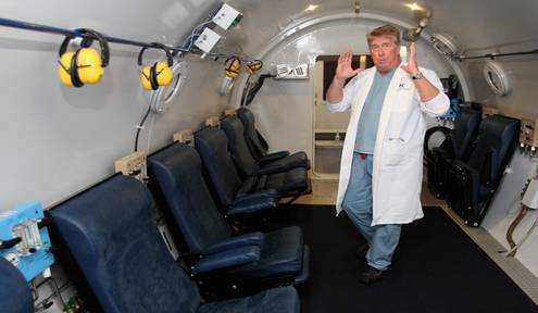 Hyperbaric therapy helps veterans