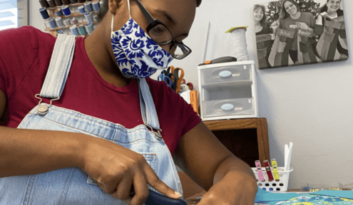 Moms Transformed: From Homeless to Artisans