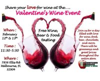 Valentine's Wine & Food
