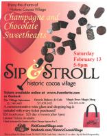 Sweethearts  Sip & Stroll