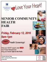 SENIOR COMMUNITY HEALTH FAIR