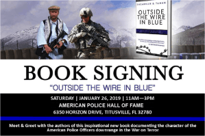 "Book Signing: ""Outside the Wire in Blue"""