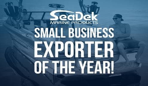 Chamber Trustee SeaDek Named Small Business National Exporter of the Year