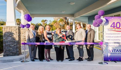 VITAS Healthcare Grand Opening of Hospice Inpatient Center at Rockledge