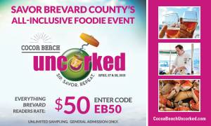 Sip. Savor. Repeat. at Third Annual Cocoa Beach Uncorked Food and Wine Festival