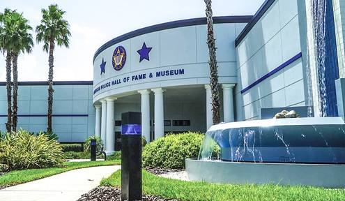 Law Enforcement Eternal Flame Project Unveiled Today For Space Coast Of Florida