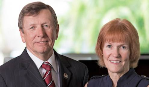 Florida Tech Announces Major Gift from  Dwayne and Mary Helen McCay