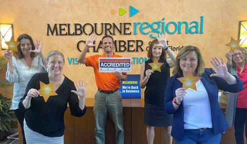 Melbourne Regional Chamber Earns Fourth 5-Star Accreditation
