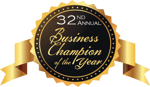 Businesses Honored at Chamber's 32nd Annual Business Champion of the Year Awards